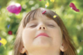 petite fille joie